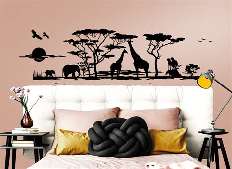 Fliesenaufkleber Afrika by 31 Skyline Und Panorama Wandtattoos Als Deko Grandora De