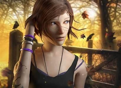 Strange Chloe Storm Before Background Ark Wallpapers