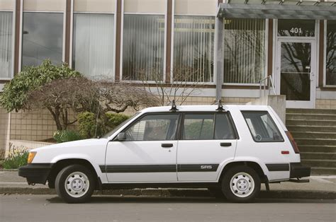toyota awd wagon old parked cars 1986 toyota tercel sr5 awd wagon
