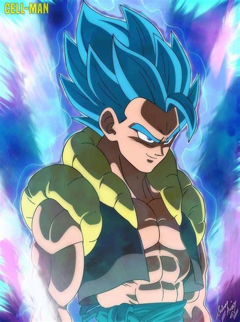 gogeta super saiyajin blue personajes de dragon ball