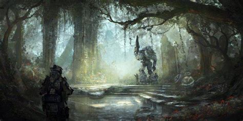 titanfall drawn concept art video games wallpapers hd