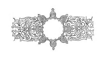 Label Decorative Fancy Royalty Circle Digital Clip