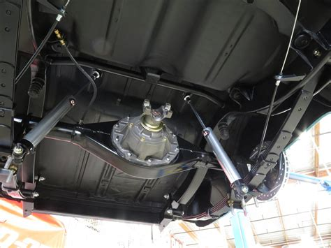 car rear suspension custom gas filler neck for 69 camaro autos post