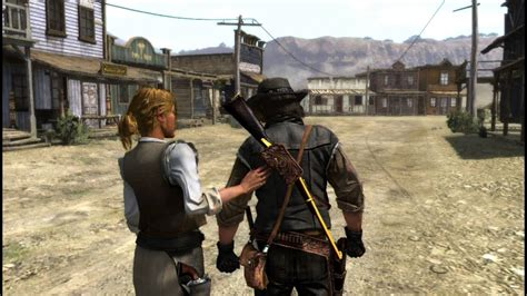 Red Dead Redemption Gameplay Test Steam Pcps3 Youtube