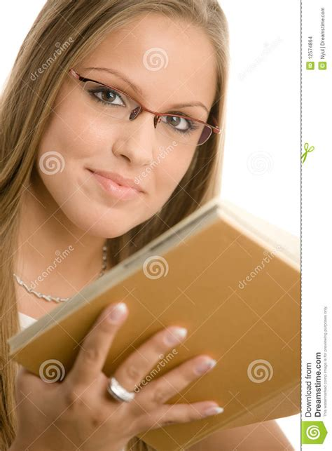 Beautiful College Girl Stock Images Image