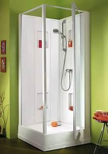 cabines douches integrale carre rectangle 1 4 de With porte de douche coulissante avec prise electrique etanche salle de bain