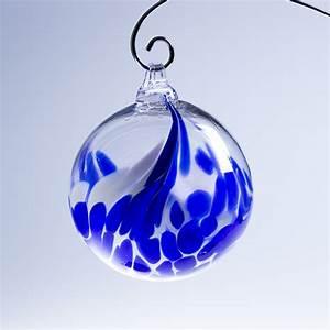 Boule De Noel Bleu : boule de no l bleu d corations boules de no l cristal lehrer ~ Teatrodelosmanantiales.com Idées de Décoration