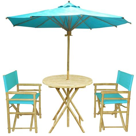 outdoor dining set in aqua everything turquoise