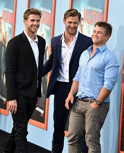Luke Hemsworth Sighting: Actors Chris And Liam Hemsworth ...