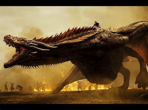 game  thrones daenerys  drogon attack lannister