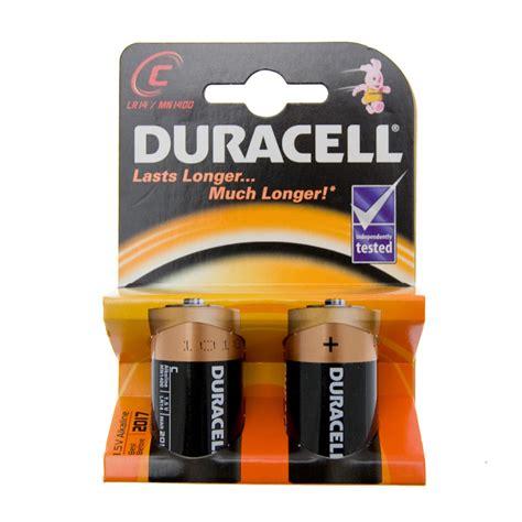 b batterie b m duracell c type alkaline batteries 2pk 112557 b m