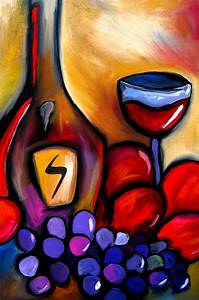 Wonderfully Uplifting And Intoxicating Wine Art - Bored Art