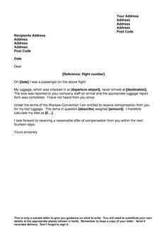 complaint letters images letter  cv