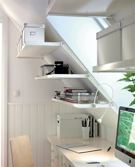 large bathroom wall cabinet bookshelf and file cabinet storage shelves on sloping wall