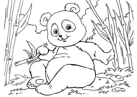 Dierenmasker Kleurplaat Panda by Kleurplaat Panda Afb 27859 Images