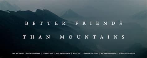 friends  mountains joels trumpet