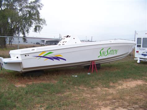 Boat Hulls For Sale by 2003 31 5 Center Console Hull Only The Hull