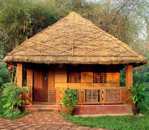 urbunhut urbun hut mud house builder contractor  india mud house construction mud
