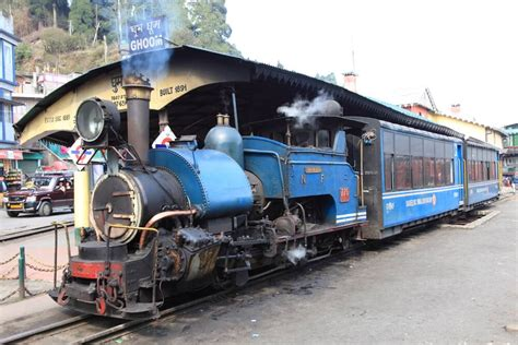 Travel Along The Winding Path Of Darjeeling On Toy Train ...