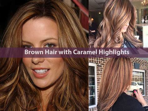 Brown With Hair by 30 Impressive Brown Hair With Caramel Highlights 2019