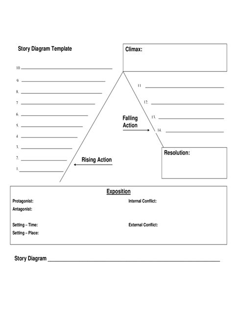 Plot Diagram Template Plot Diagram Template 4 Free Templates In Pdf Word
