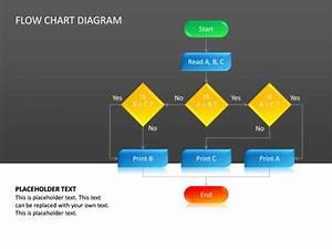 Powerpoint Slide - Flow Chart Diagram - 3d