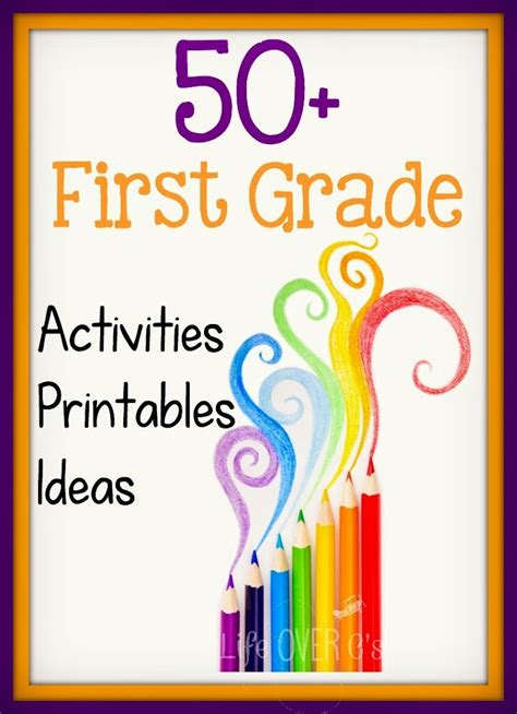 1st Grade Activities, Printables And Ideas  Life Over Cs