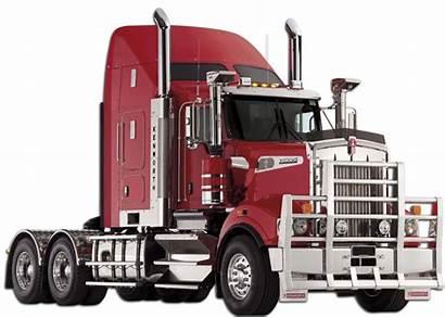 Kenworth T909 Truck Trucks Semi Draw Equipment