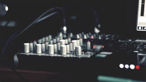 hd hintergrundbilder musik installation mischpult desktop