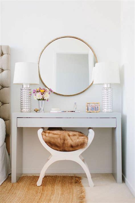 mirroir chambre coiffeuse avec miroir 40 idées pour choisir la