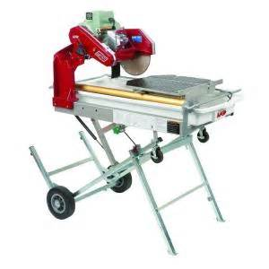 mk diamond mk 101 pro 24 10 in tile saw with stand and