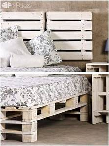 44, Best, Recycled, Pallet, Bed, Frame, Ideas, To, Make, It, Yourself, Bed, Frame, Ideas, Pallet, Rec
