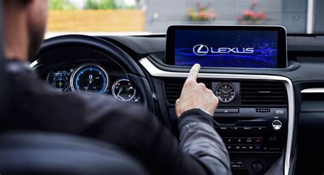 lexus rx  revised    touchscreen