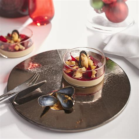 que cuisiner pour un repas en amoureux pana cotta au foie gras de cédric béchade une recette