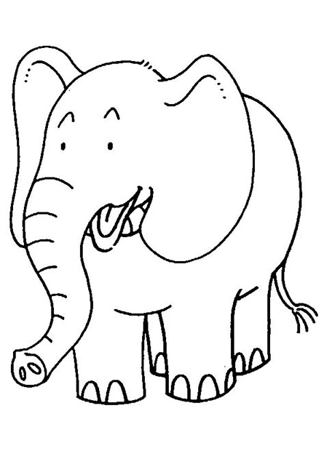 elephant coloring pages coloringpagescom