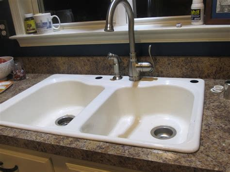 kitchen sink air gap half finished house everything and the kitchen sink 5618