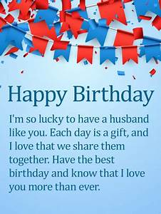Happy Birthday Husband Love You | www.pixshark.com ...