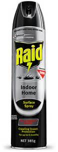 raid indoor home surface spray