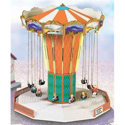 Lionel Play World Amusement Park Swing Ride