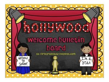 themed welcome bulletin board by grade a 901 | original 814241 1
