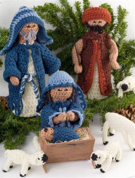 crocheted nativity favecraftscom