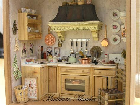 kitchen dollhouse furniture miniature dollhouse kitchen roombox style fully