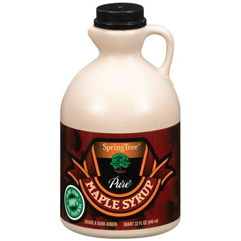 Kroger Bloomfield Maple by Tree Grade A Maple Syrup From