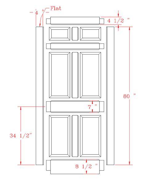 standard door height standard door dimensions