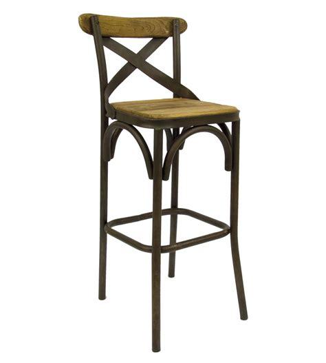 kitchen island bar stool sgabello in ferro battuto lavorato e seduta in legno a