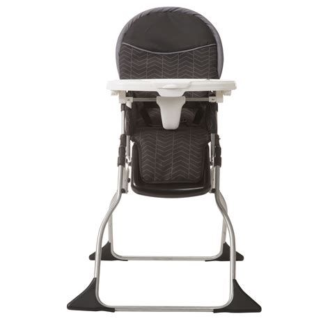 cosco simple fold deluxe high chair black arrows high