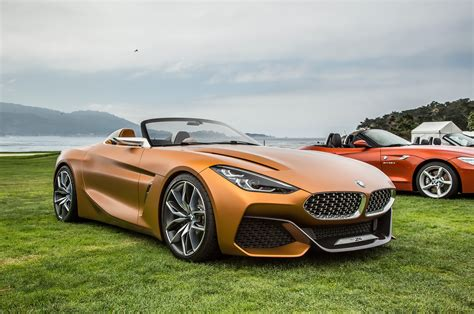 hello beautiful bmw concept z4 unveiled in monterey automobile magazine