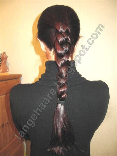 lange haare english braid