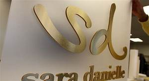 metal laminate letters acrylic laminate letters impact With laminated letters