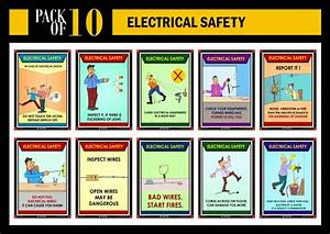 electrical safety awareness posters posters on electric With electrical safety posters